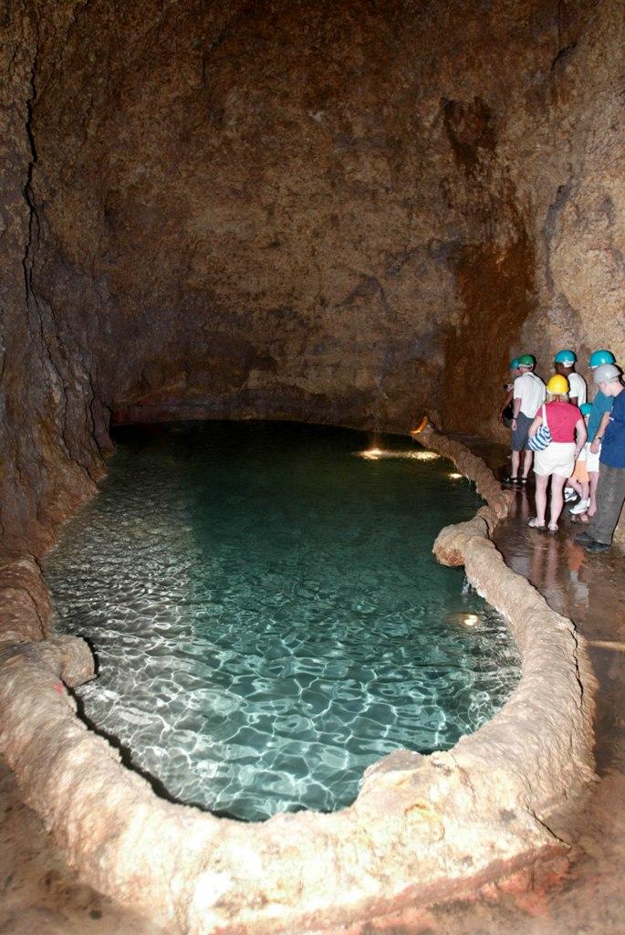 Экскурсия по пещерам, Барбадос