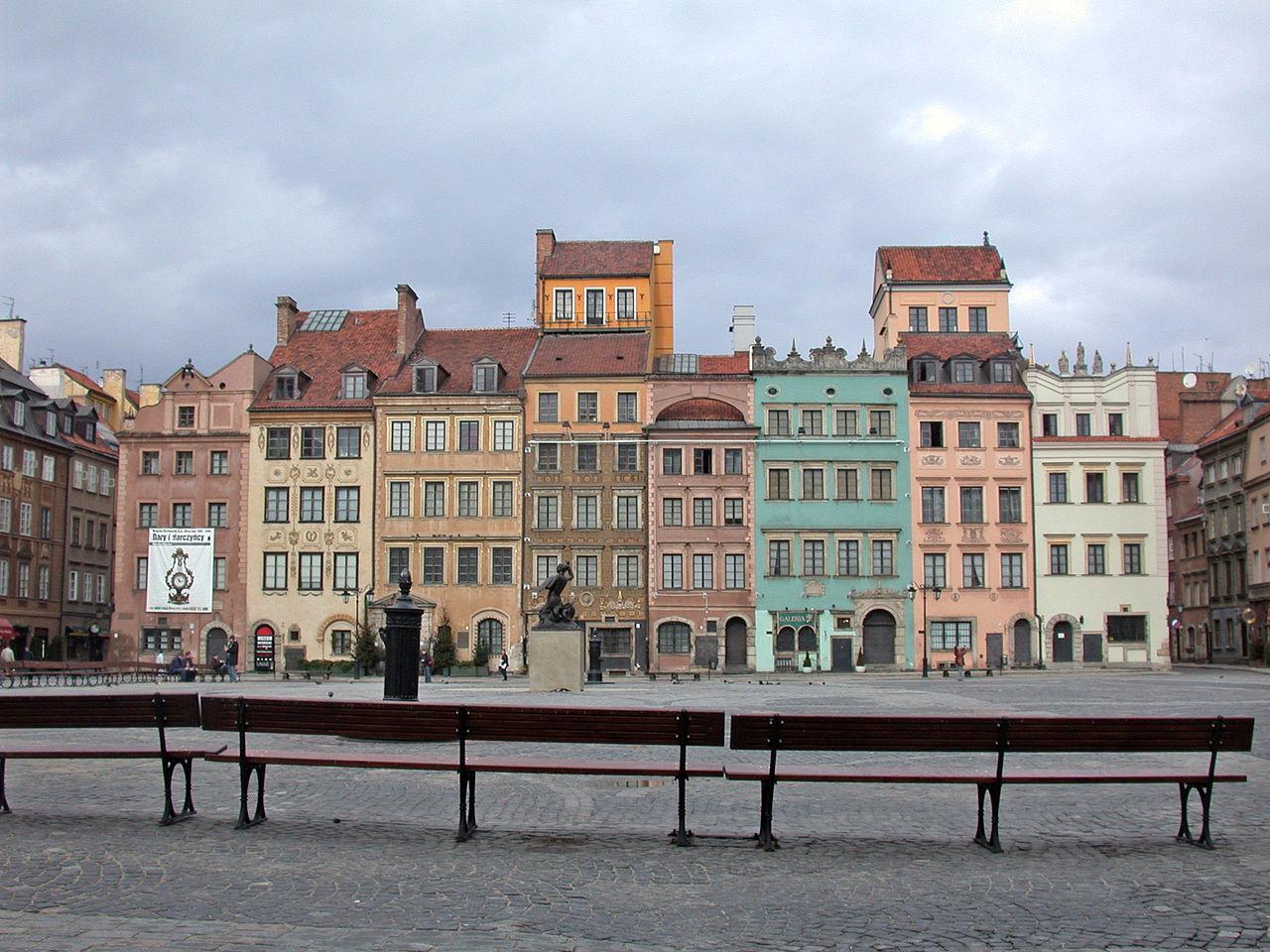 Исторический музей Варшавы на Рыночной площади Старого города