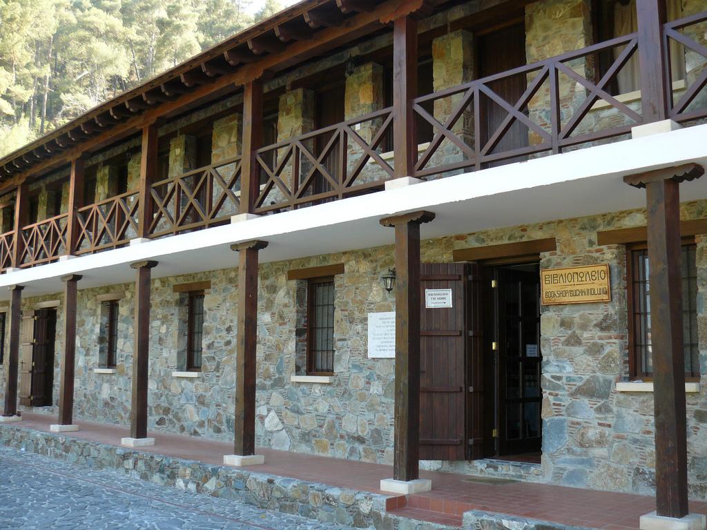 Монастырь Махерас, гостиница