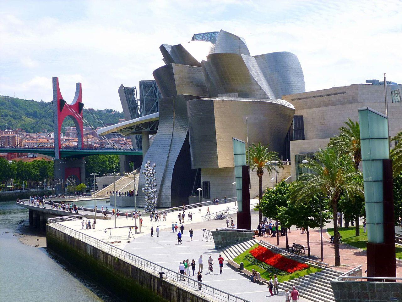 Музей Гуггенхайма в Бильбао, набережная