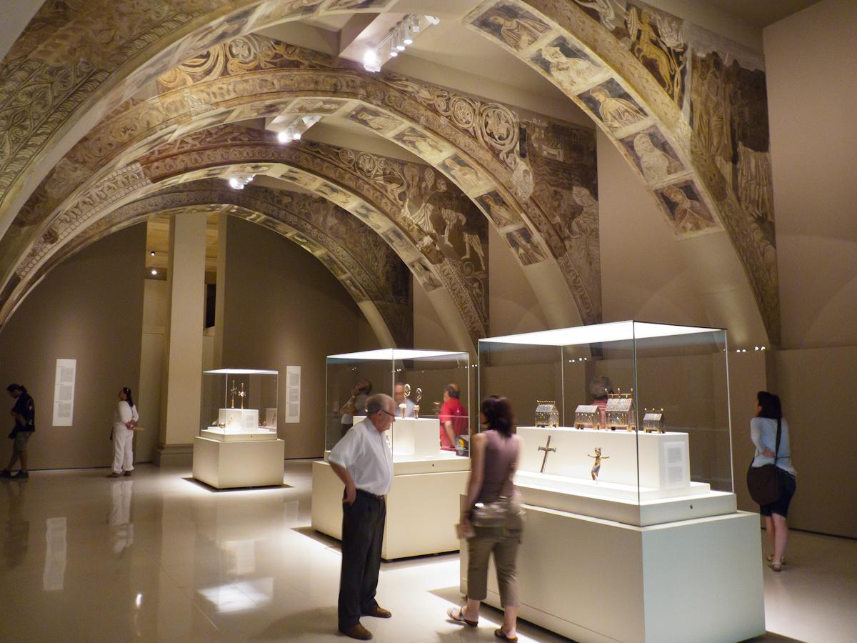 Национальный музей искусства Каталонии, романский зал