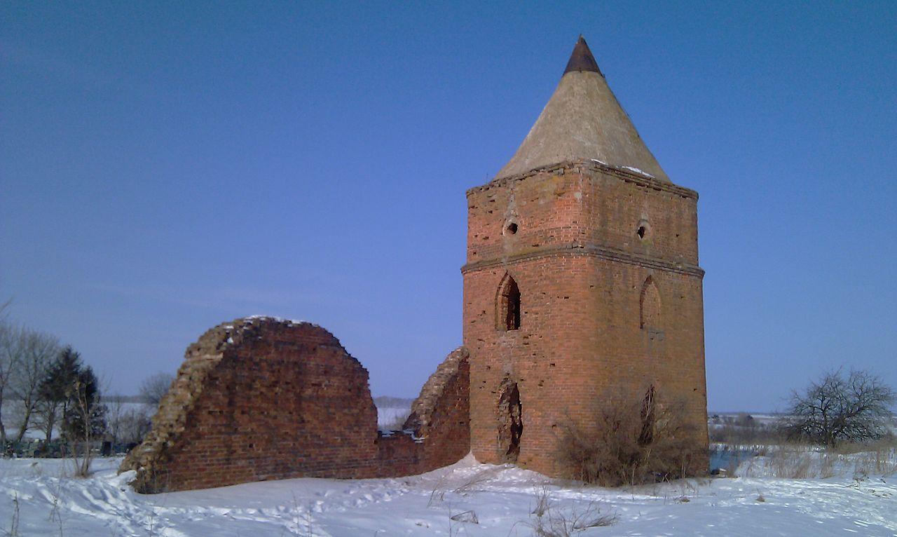 Сабуровская крепость, часть ограды