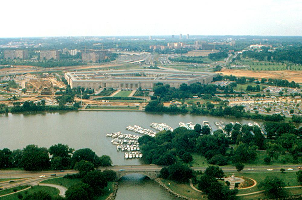 Вид на Пентагон, Вашингтон