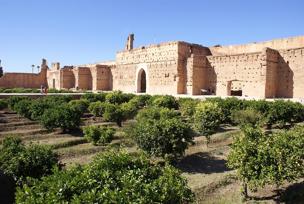 Дворец Эль-Бади, апельсиновый сад