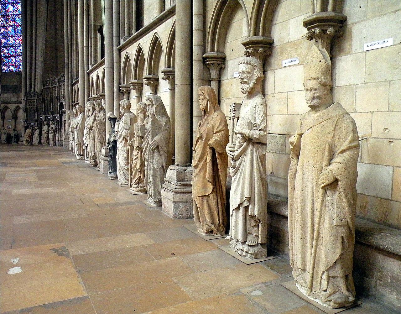 Руанский собор, музейная экспозиция