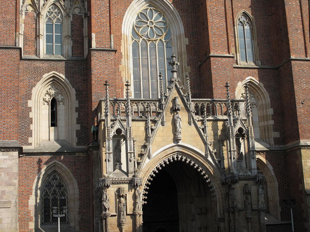 Вроцлавский собор, главный портал