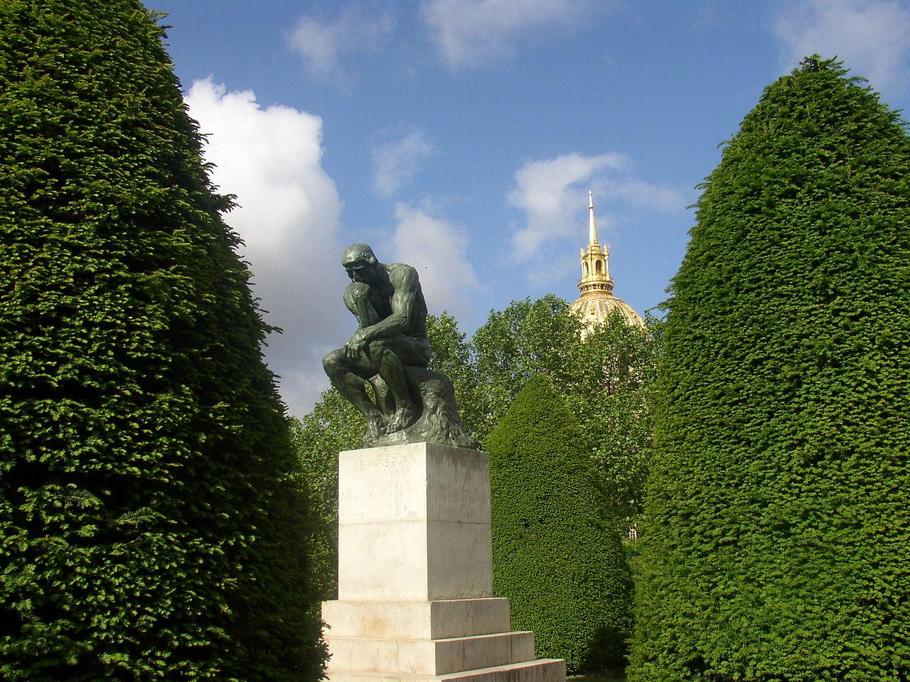 Музей Родена в Париже, Мыслитель
