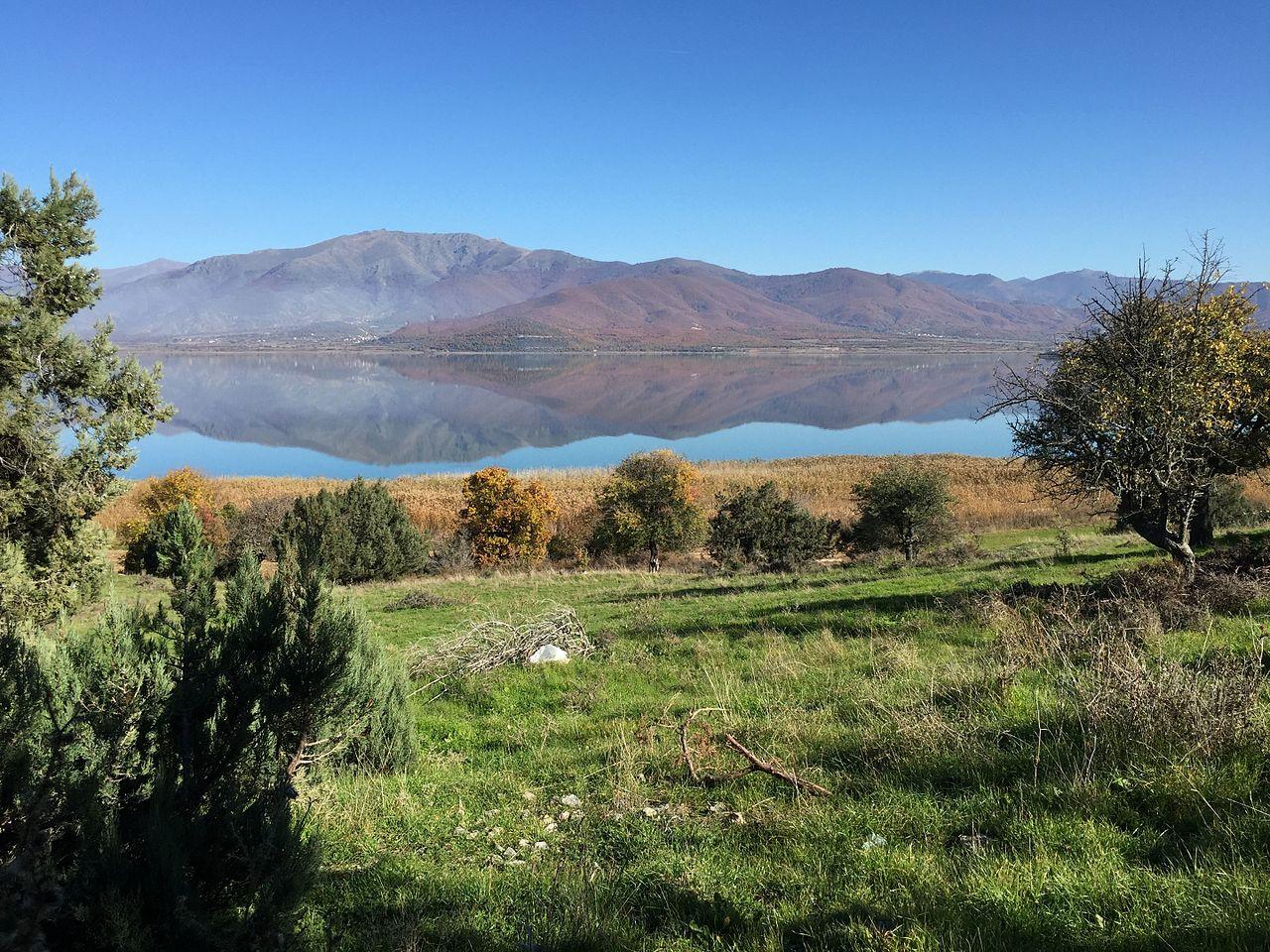 Балканское озеро Преспа подает сигнал SOS