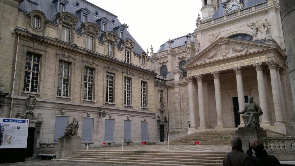 Вход в Сорбонну, Париж