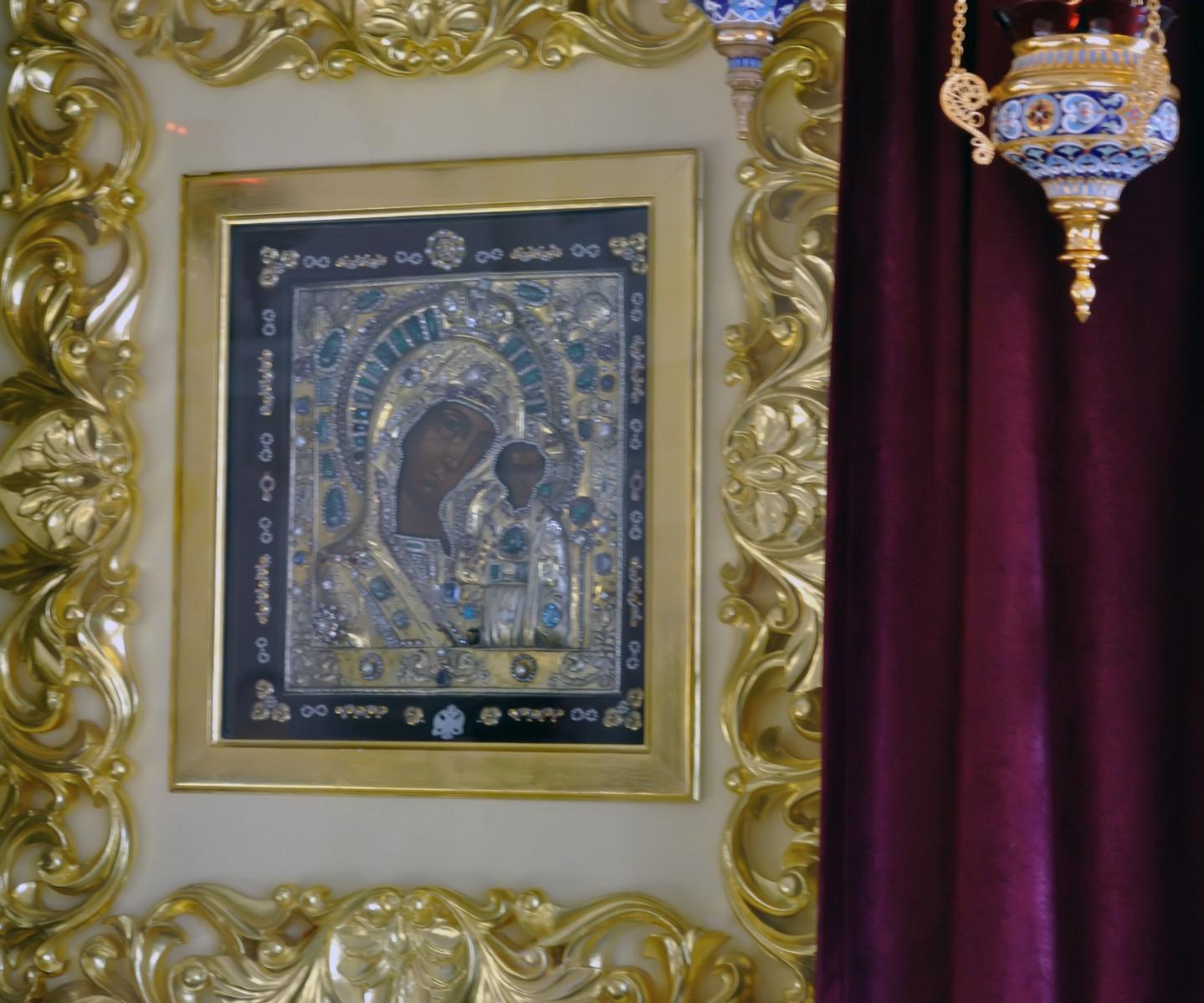 Казанский Богородицкий монастырь, икона