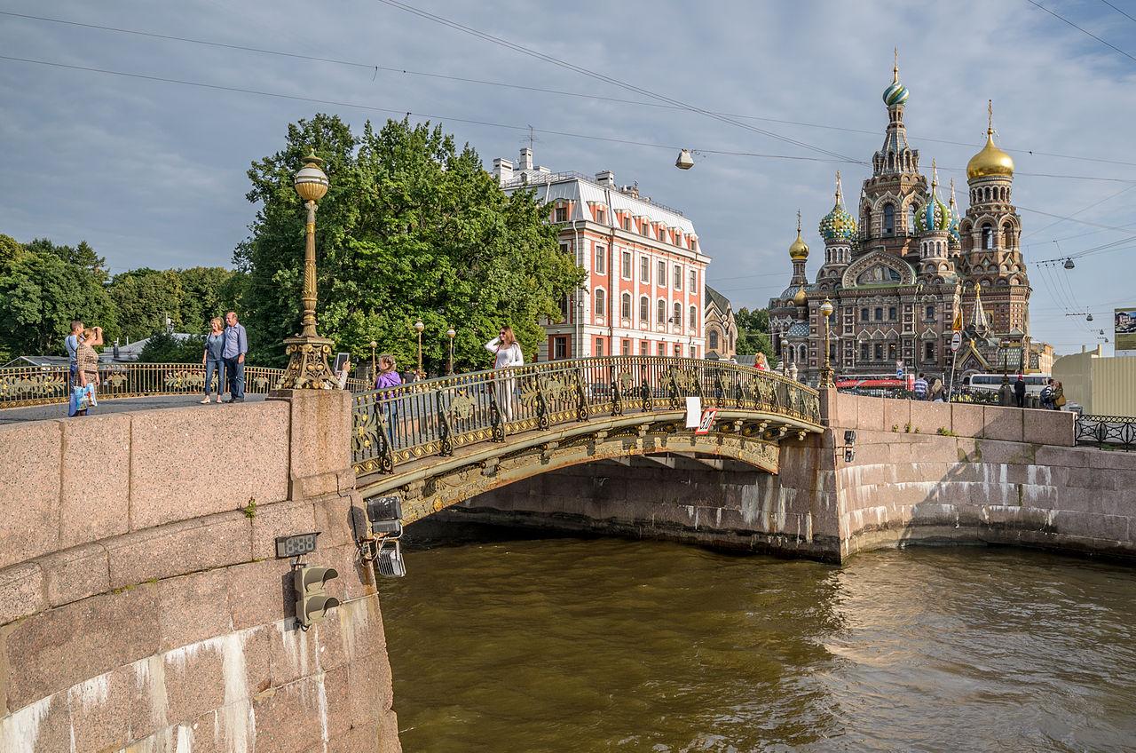 фото тройного моста в спб собраны