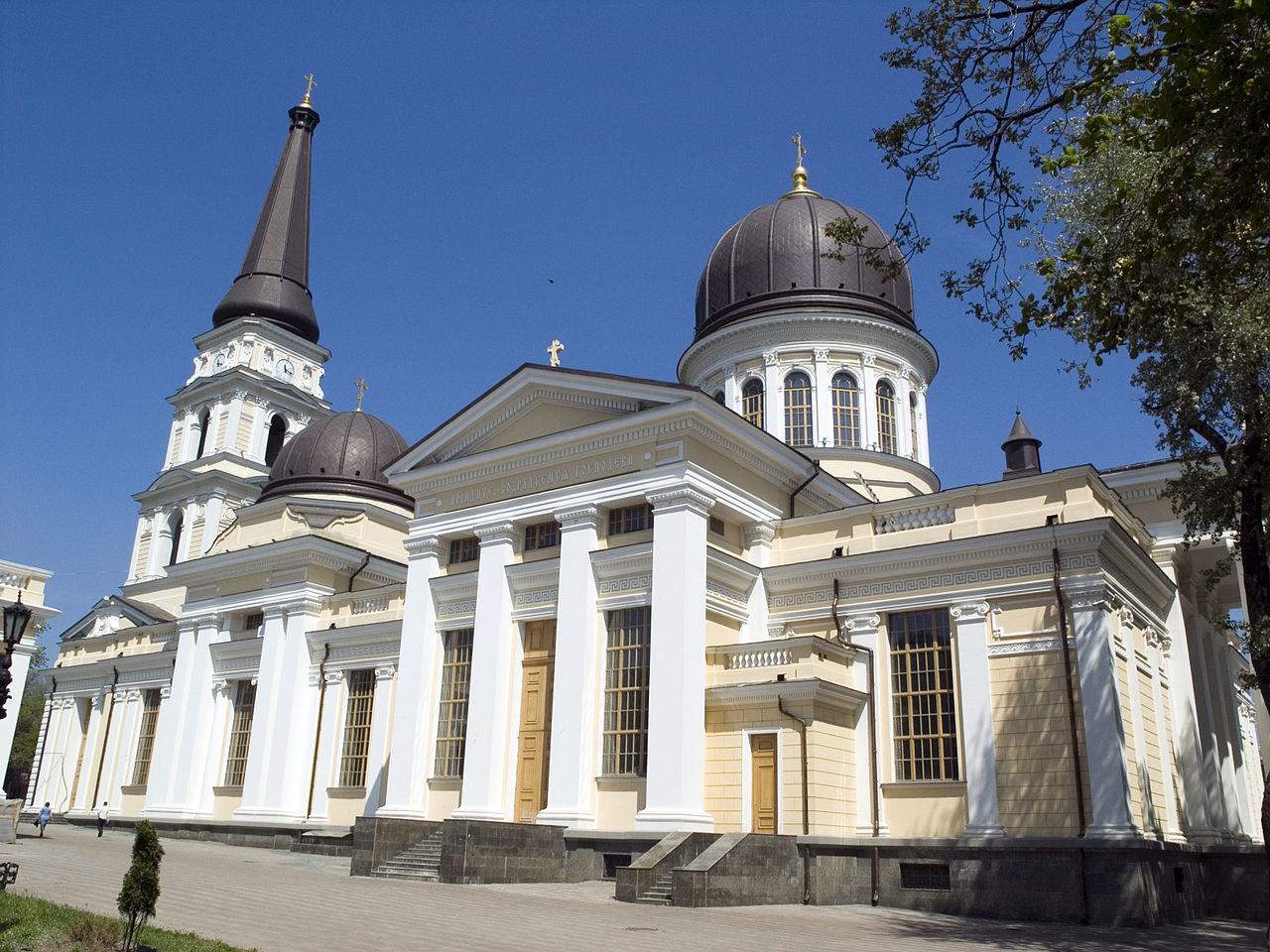 Соборная площадь Одессы, Свято-Преображенский кафедральный собор