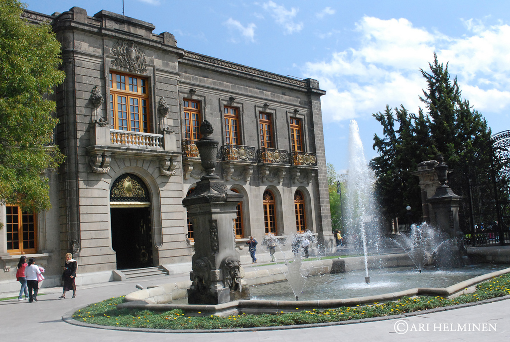Чапультепекский дворец, Мехико