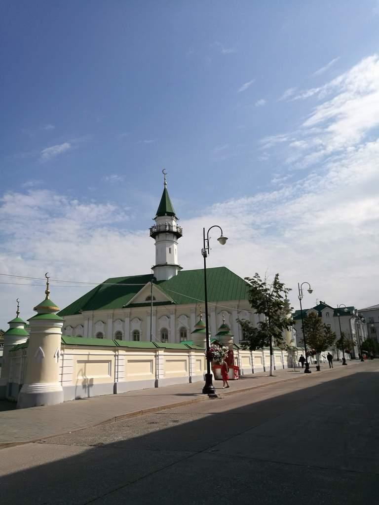 Вид на Апанаевскую мечеть, Казань, Россия