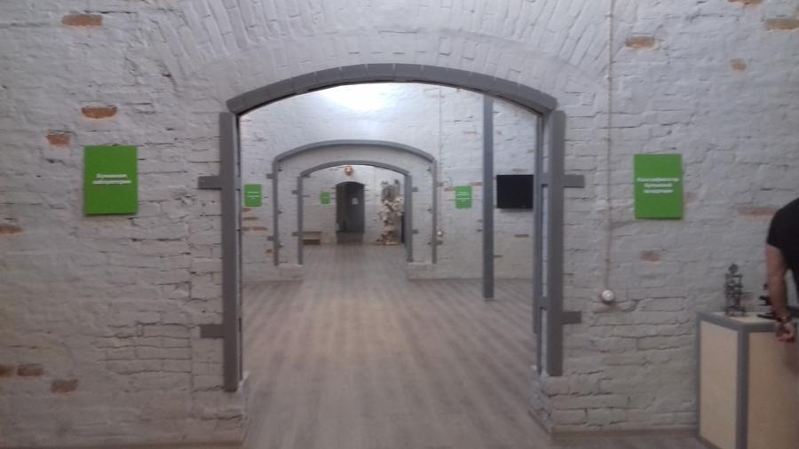 Залы Музея бумаги «Бузеон»