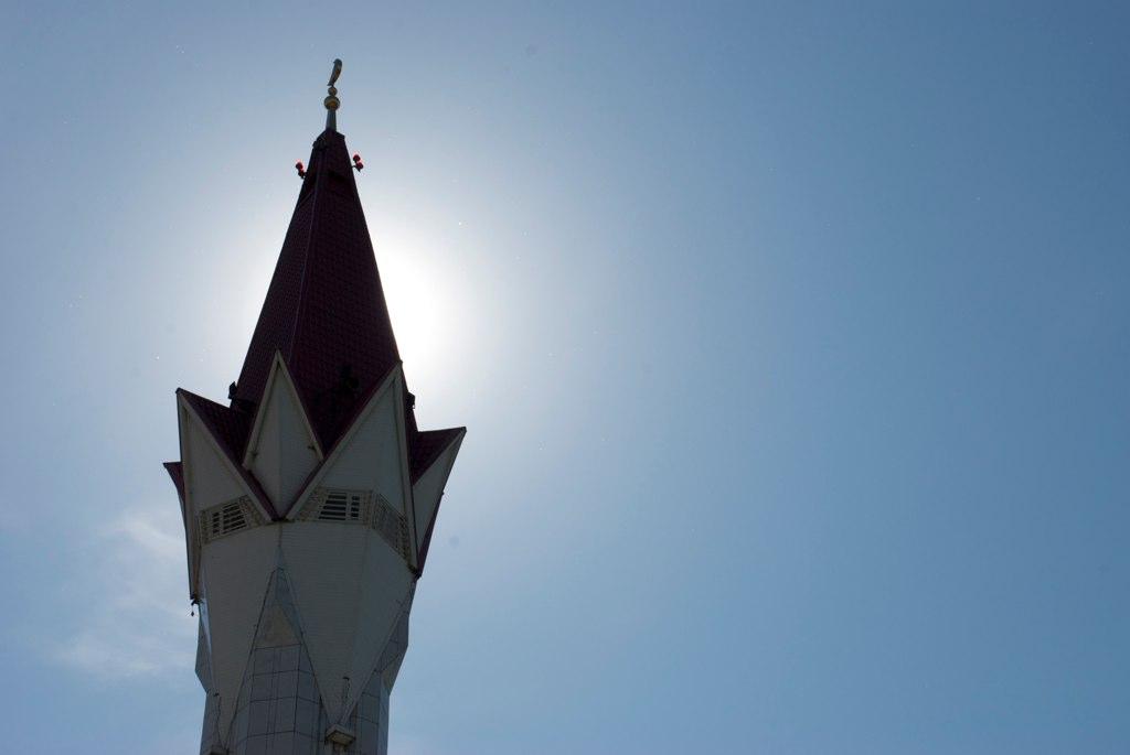 Минарет мечети Ляля-Тюльпан, Уфа