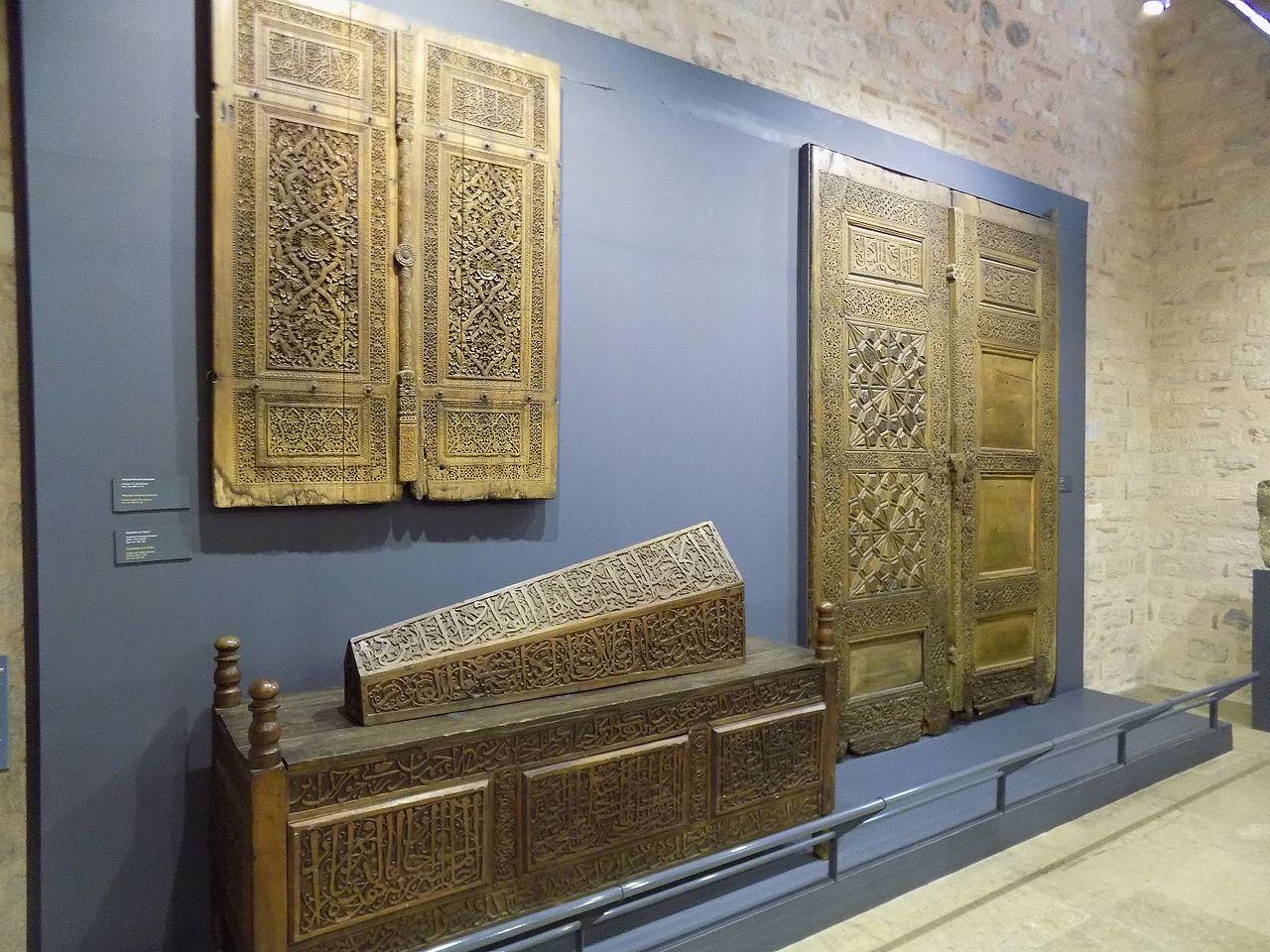 Музей турецкого и исламского искусства, резьба по дереву