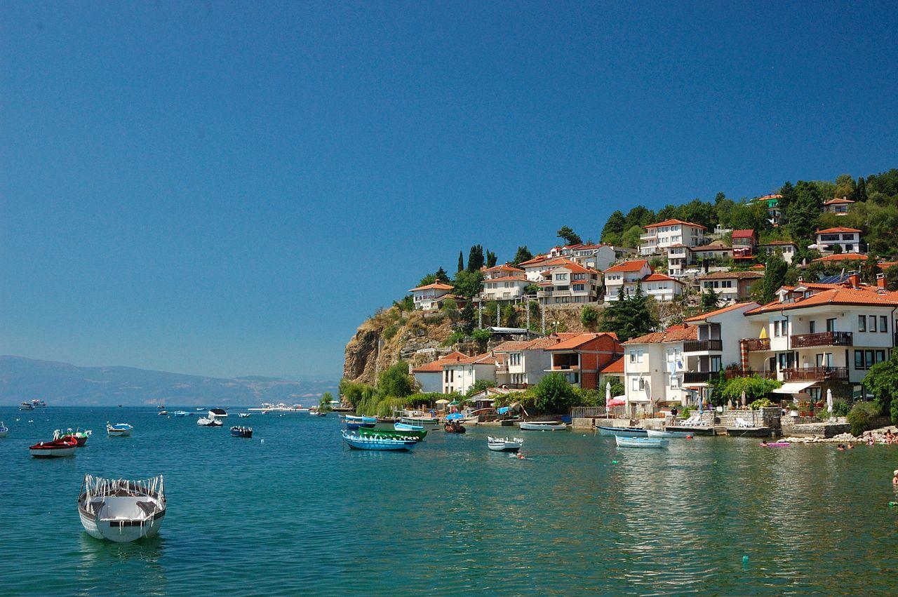Охридское озеро, город Охрид