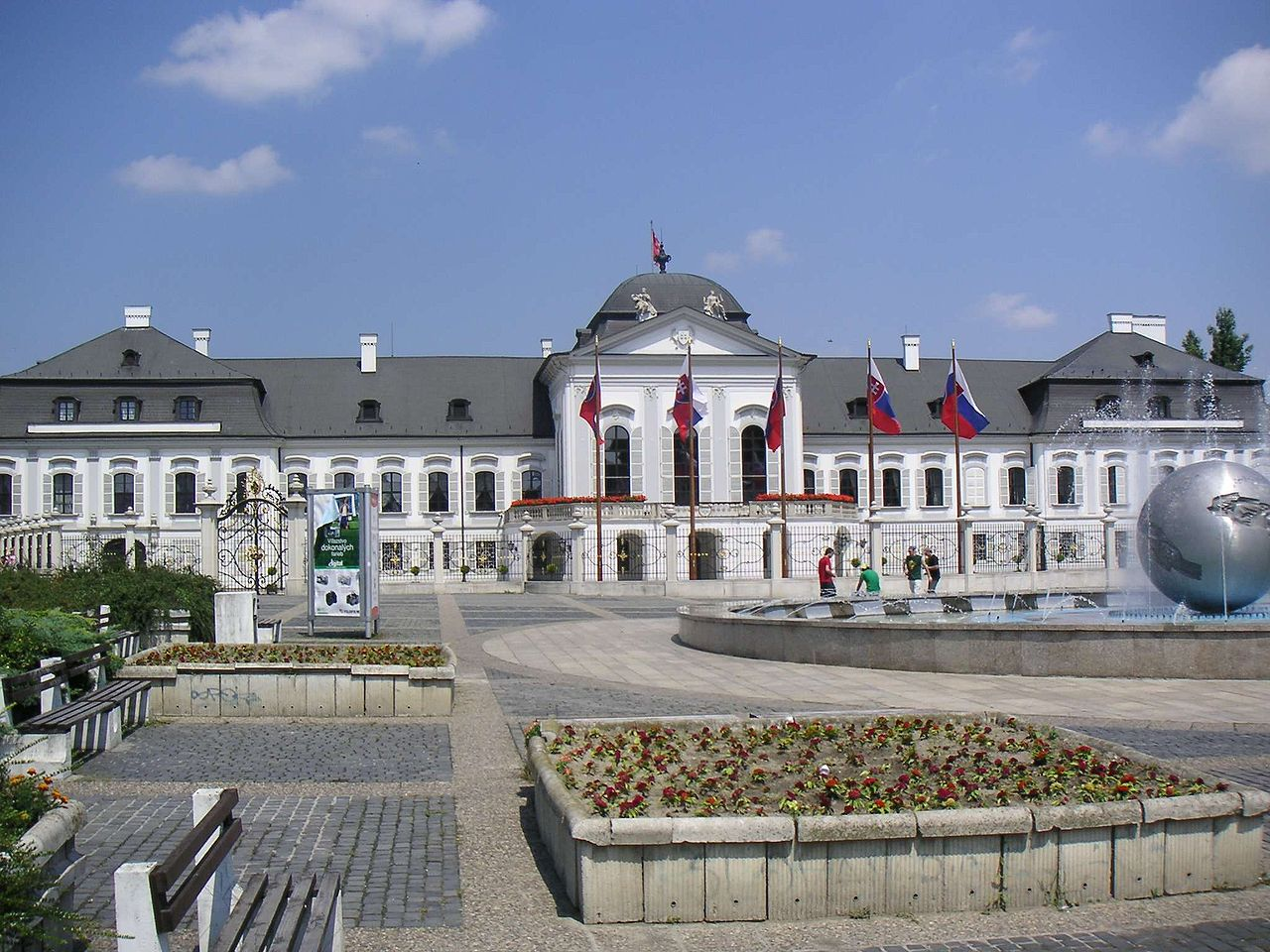 Президентский дворец Братиславы (Дворец Грассалковичей)