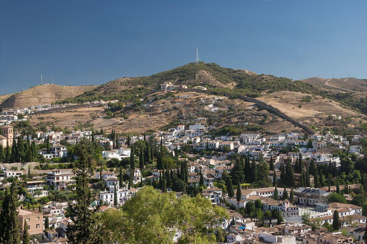 Сакромонте, холм близ Гранады