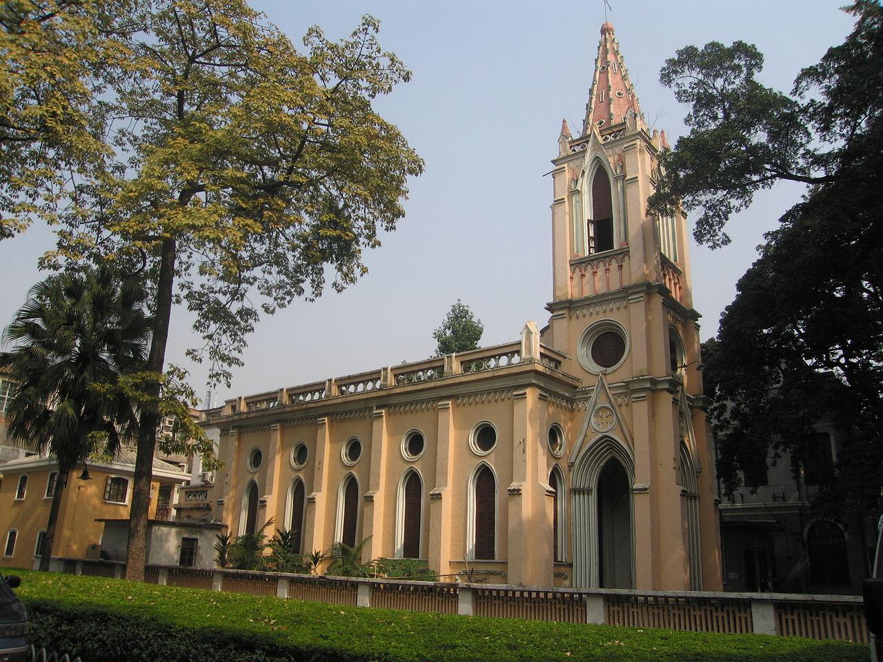 Церковь на острове Шамянь, Гуанчжоу