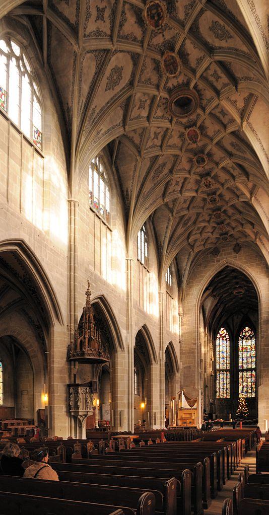 Бернский собор, интерьер