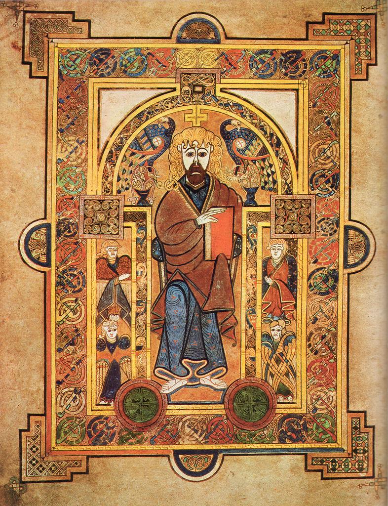 Келлская книга, Иисус Христос
