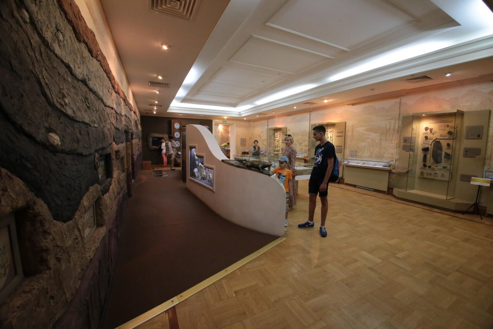 Музей естественной истории Татарстана, зал «Мир древней жизни»