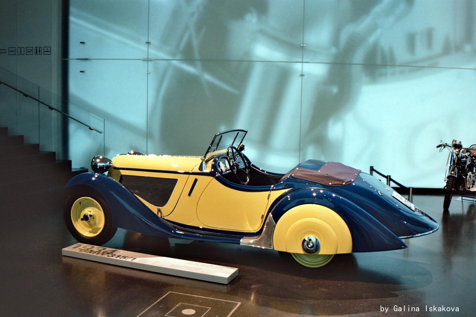 Родстер BMW 315.1, музей BMW