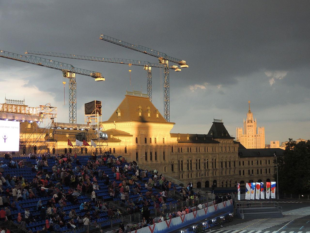 Фотография красной площади в москве