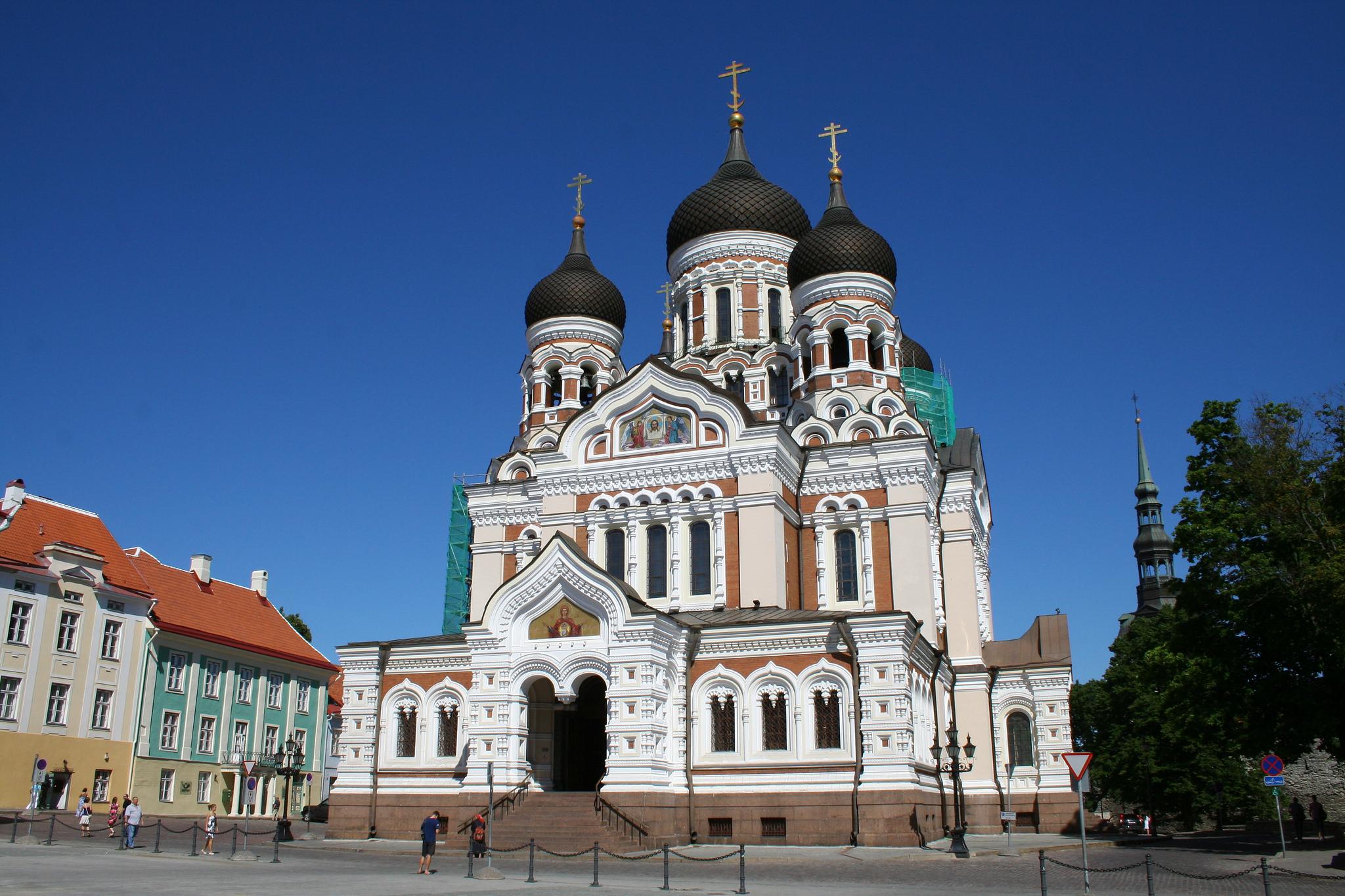 Собор Александра Невского в Таллине, фасад