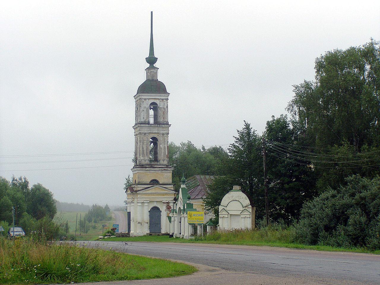 Спас-Угол, церковь Спас-Преображения
