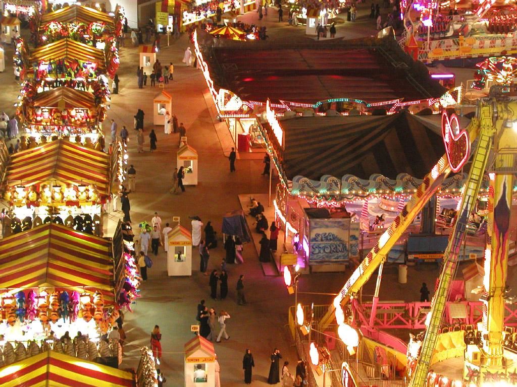 Торговая площадка фестиваля в Дубае