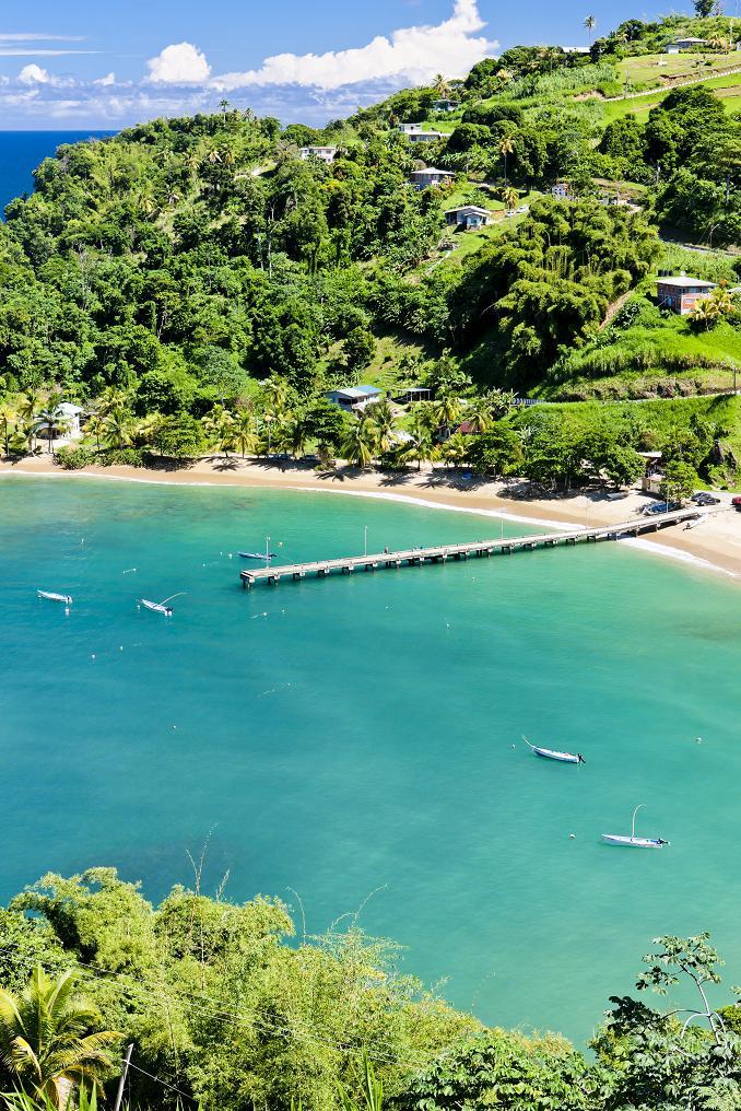 Parlatuvier Bay, Тринидад и Тобаго