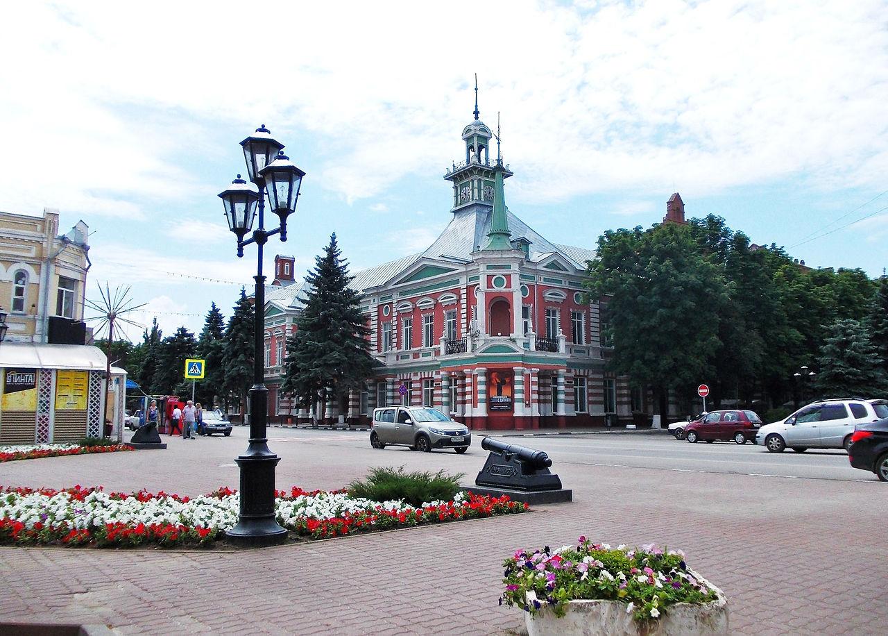 Азовский музей-заповедник (бывшее здание Второй городской управы)