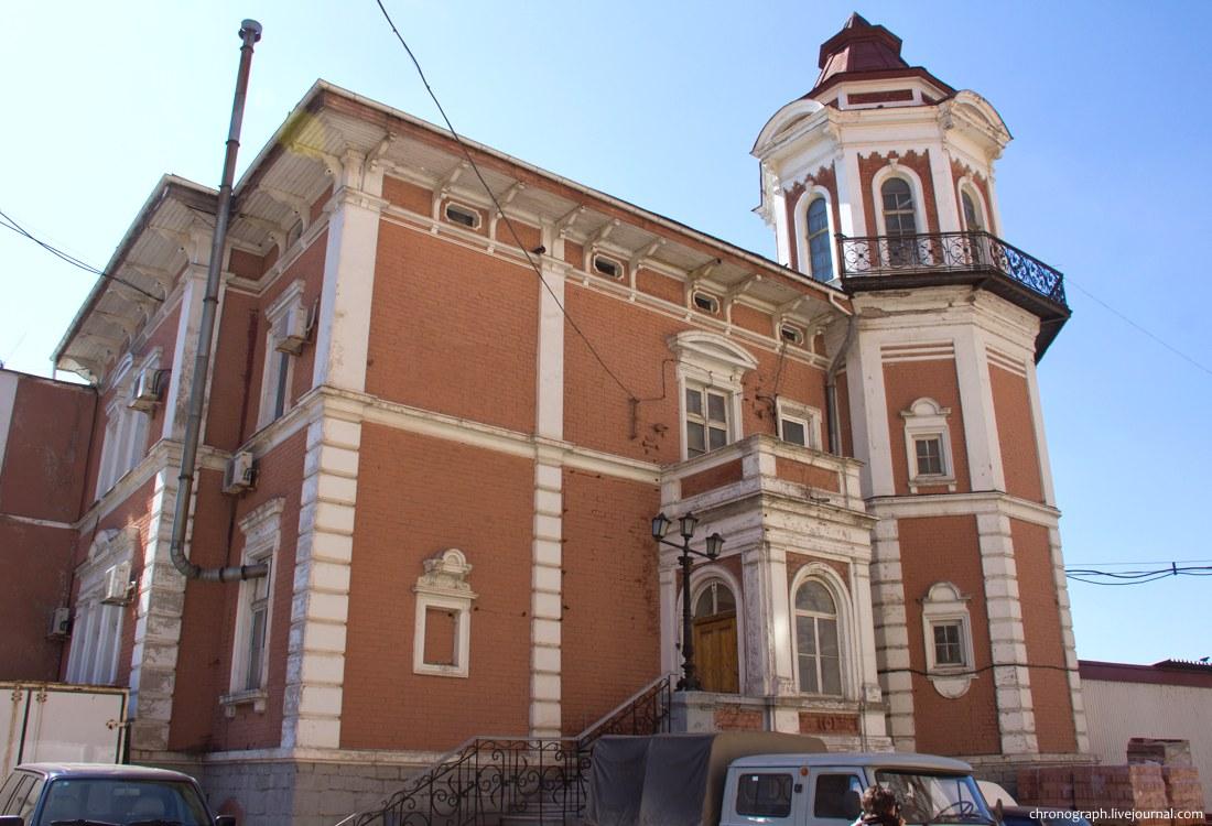 Дом, в котором жил Альфред фон Вакано