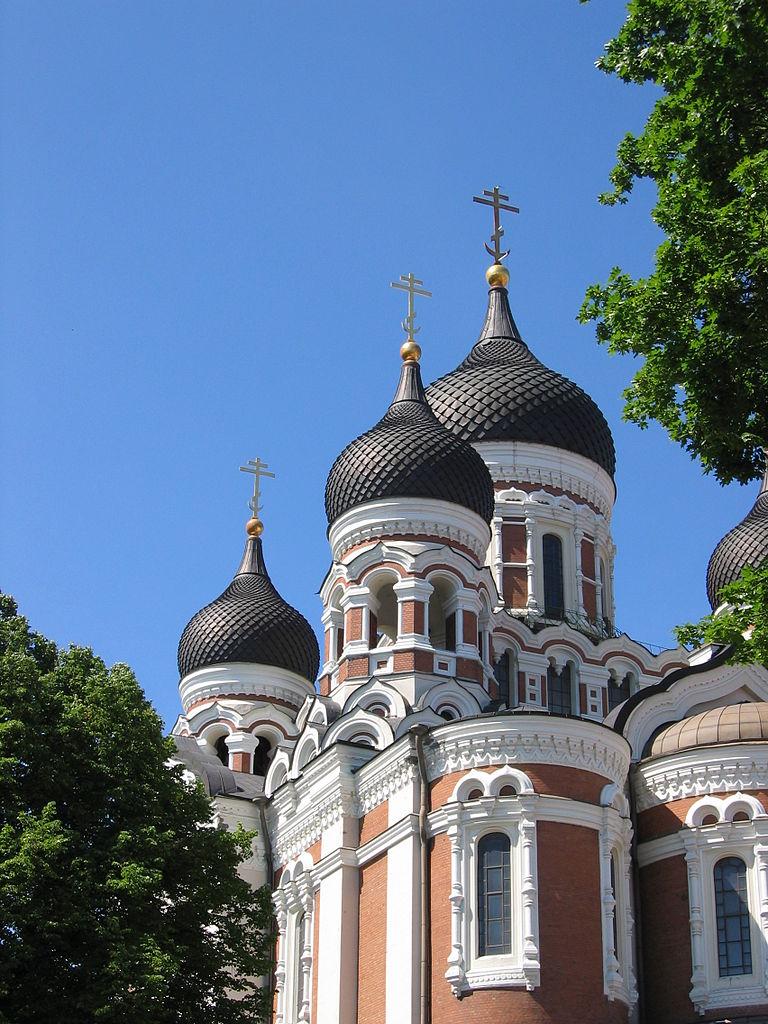 Собор Александра Невского в Таллине, купола