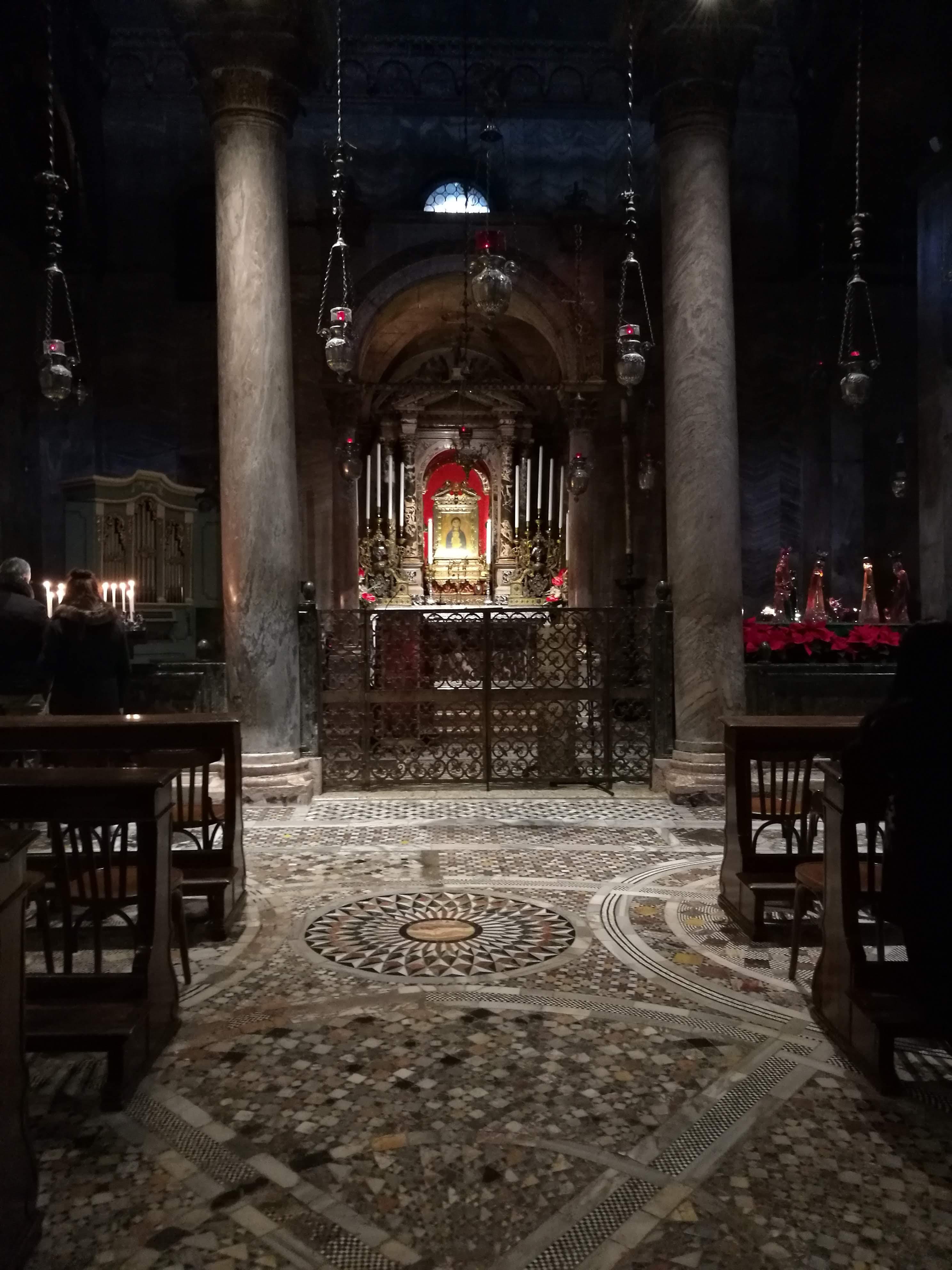 Внутреннее убранство в соборе Сан-Марко, Венеция