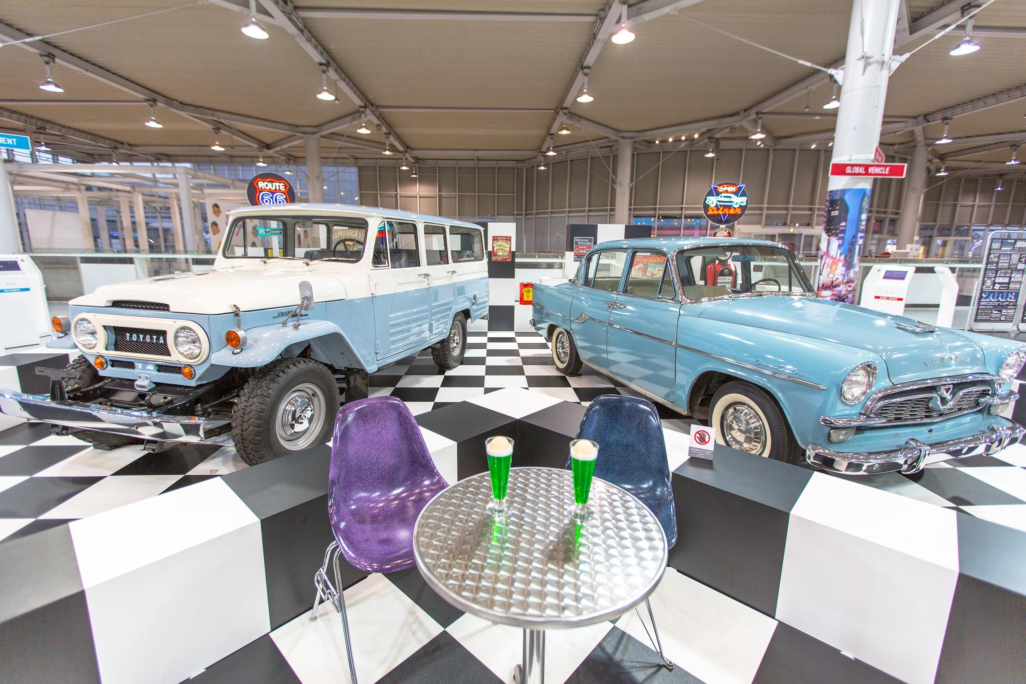 Выставочный центр Toyota Mega Web, экспонаты