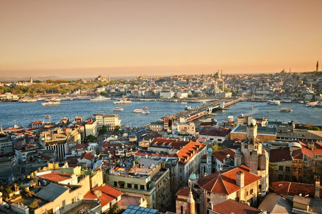 Панорамный вид Стамбула
