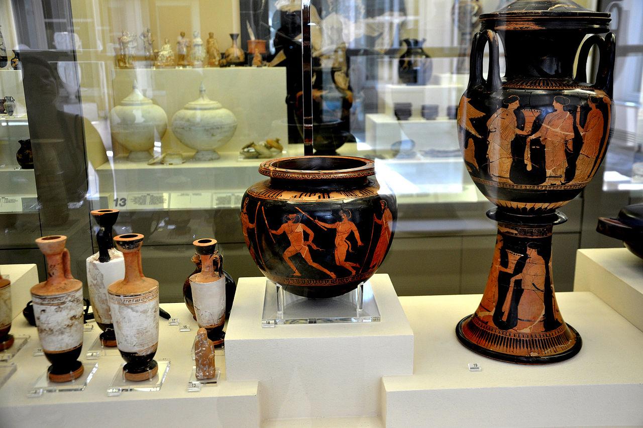 Археологический музей Керамика, коллекция античных ваз