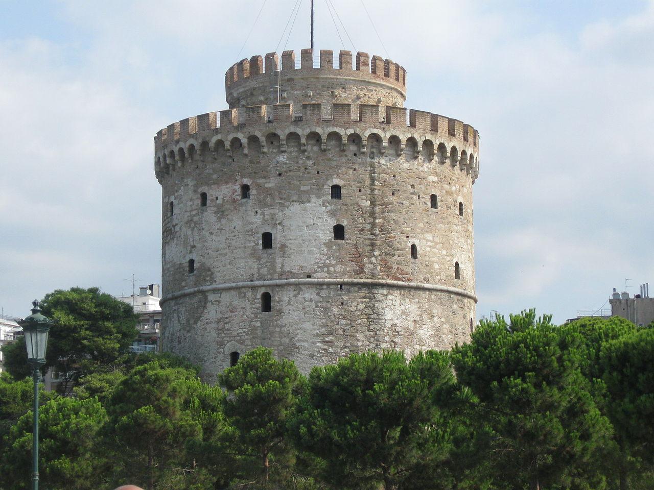 Белая башня в Салониках, музей Византии
