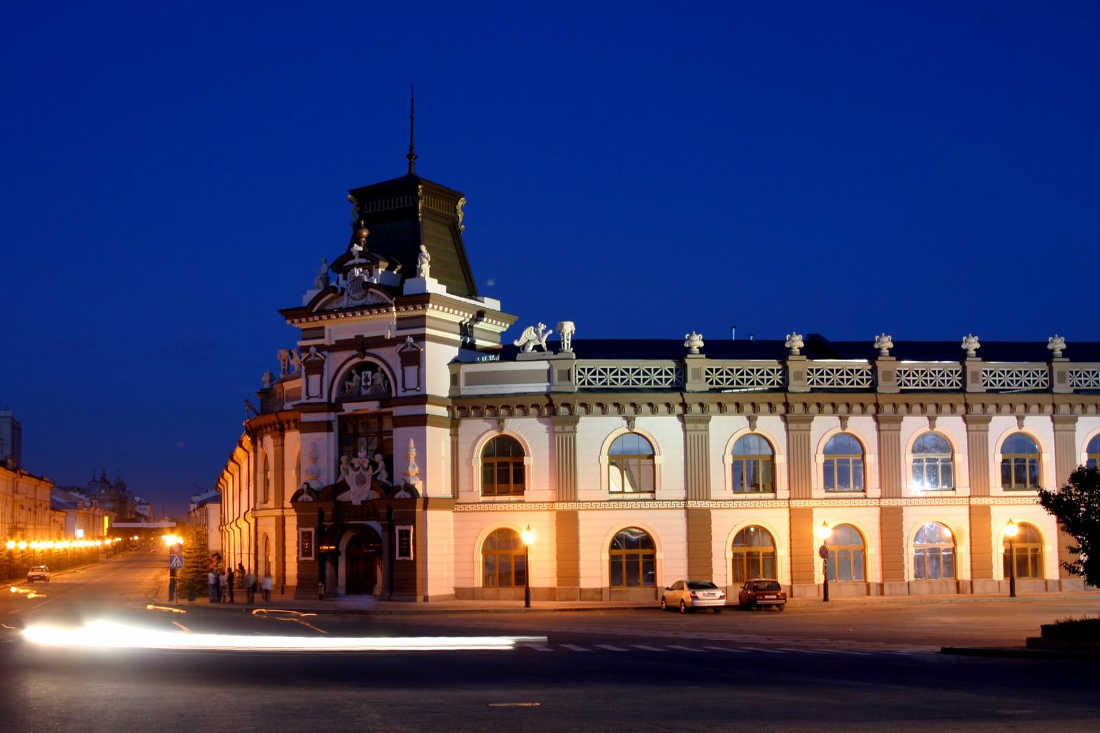 Национальный музей Республики Татарстан, вечер