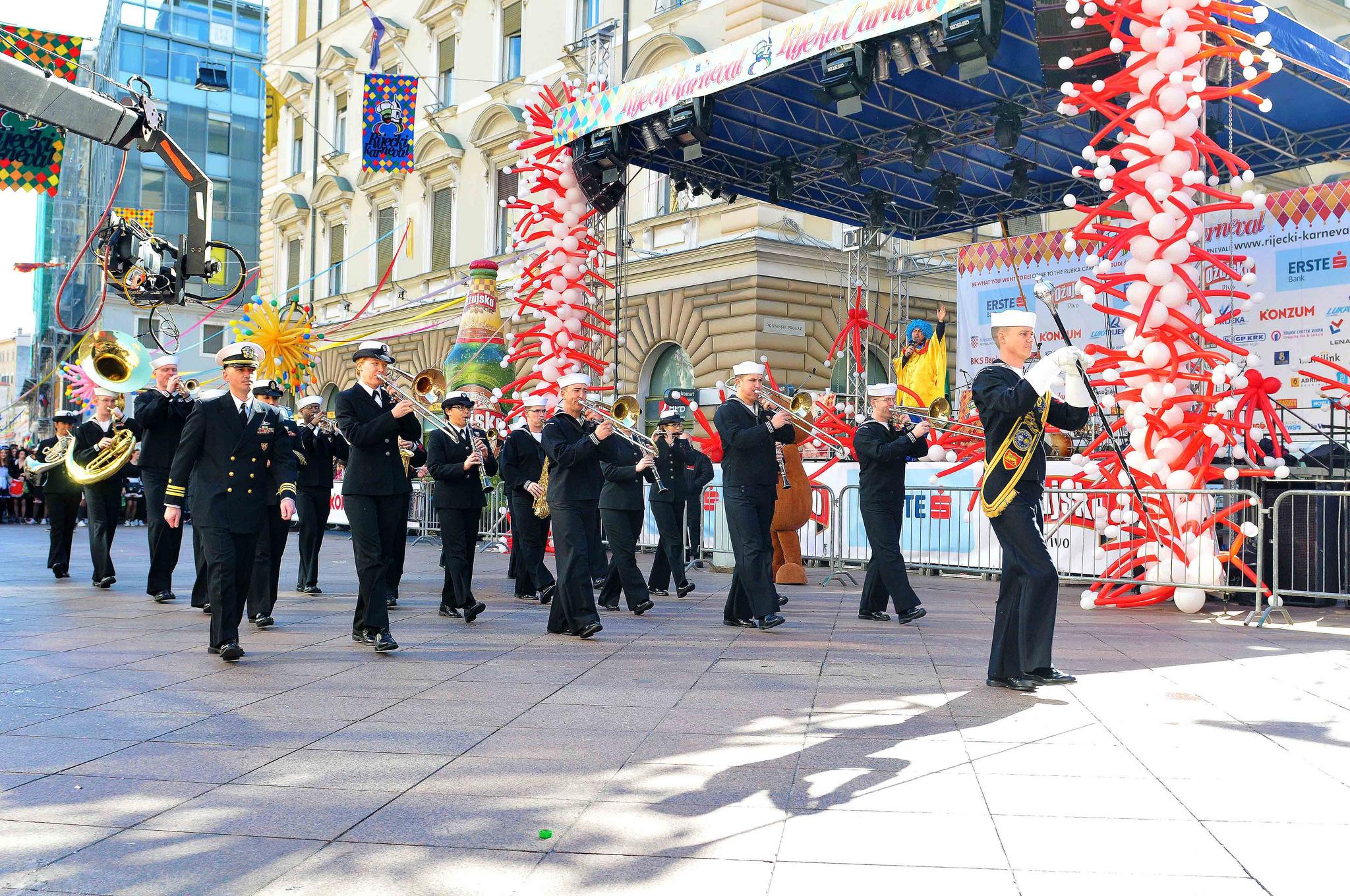 Начало карнавала в Хорватии