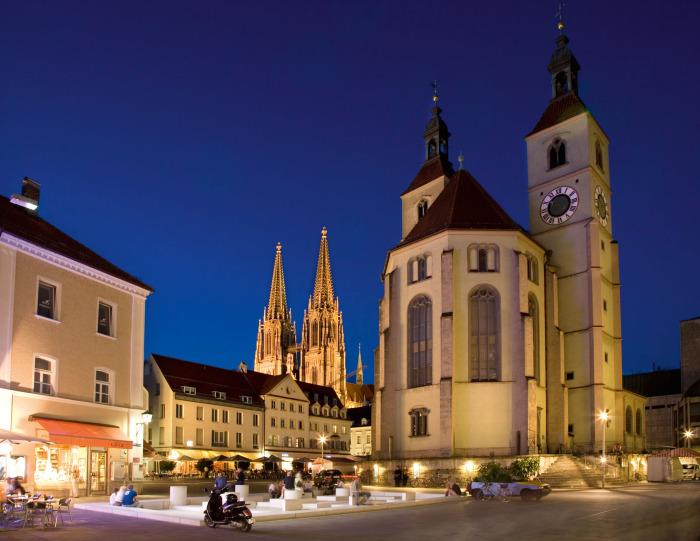 Новая приходская церковь, Регенсбург