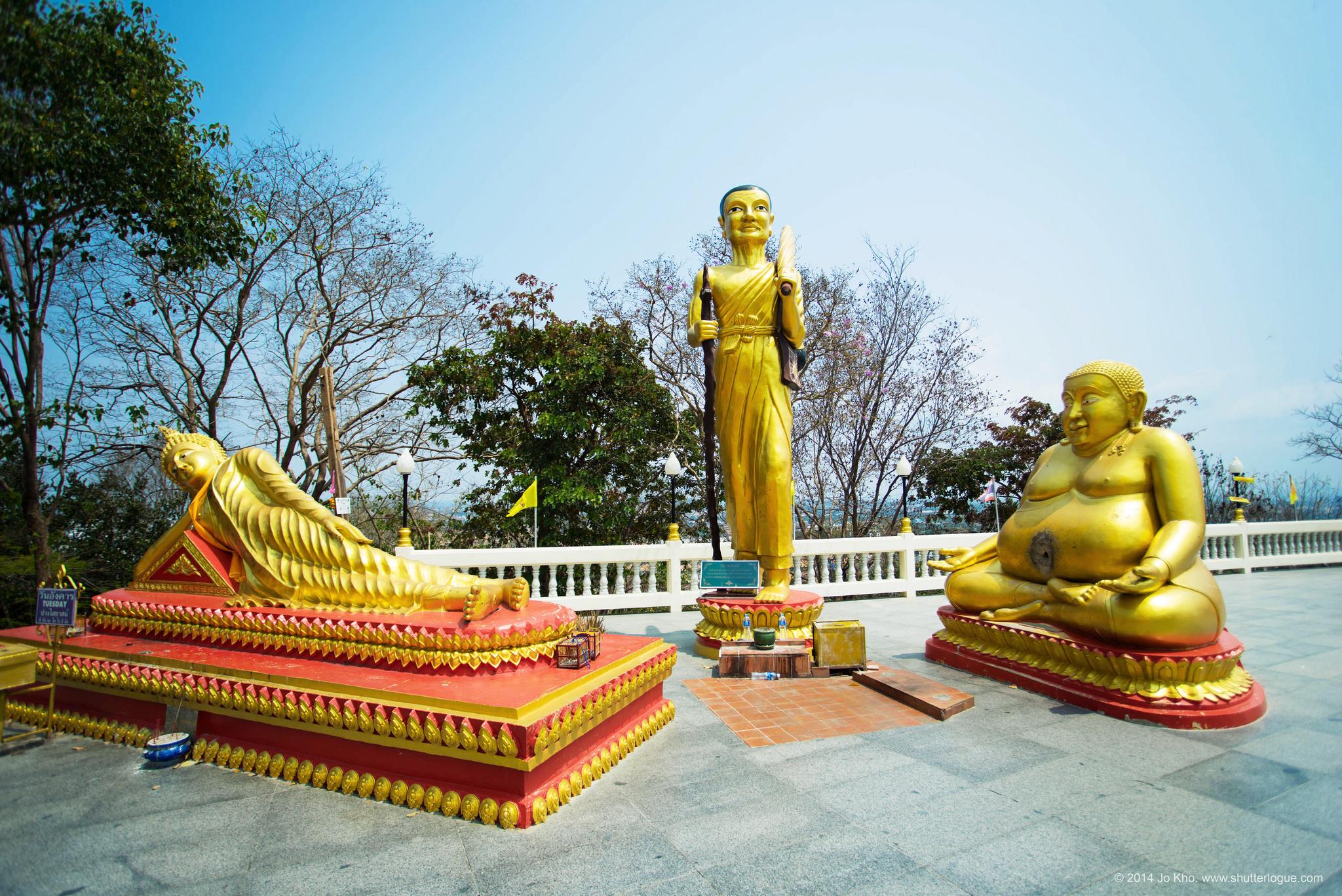 Паттайя, статуи на холме Большого Будды