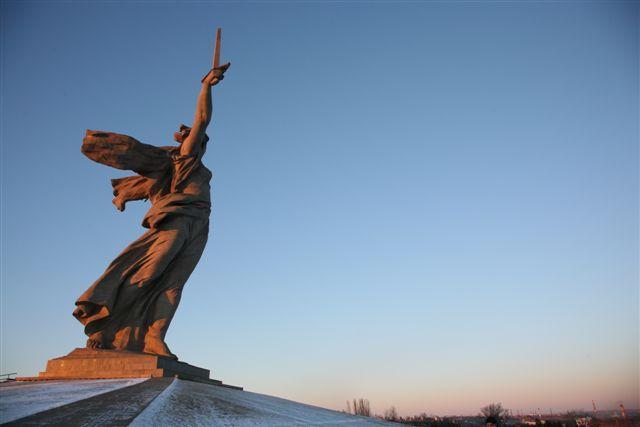 Родина-мать в Волгограде