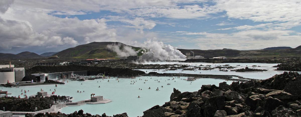 Голубая лагуна, Blue Lagoon - исландское чудо света
