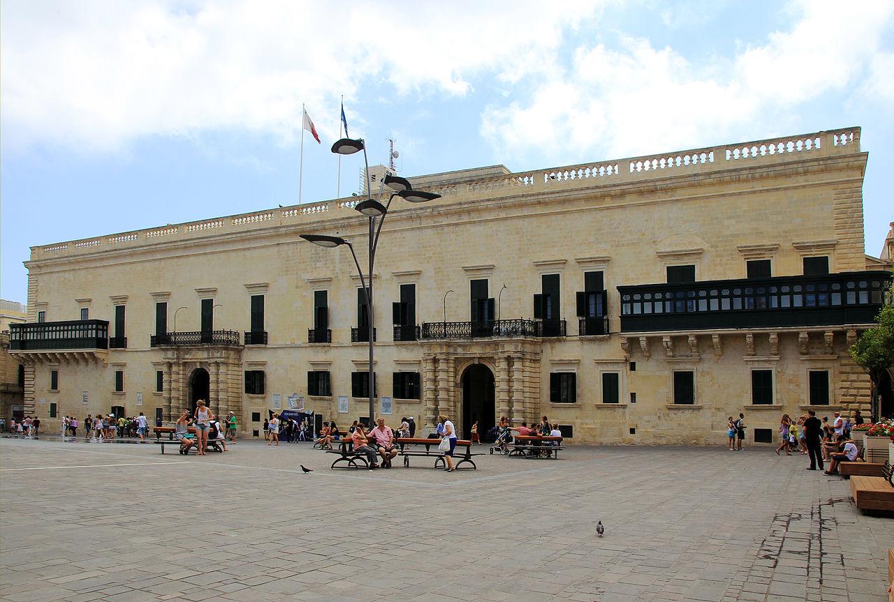Дворец Великого магистра на Мальте, в городе Ла-Валлетта