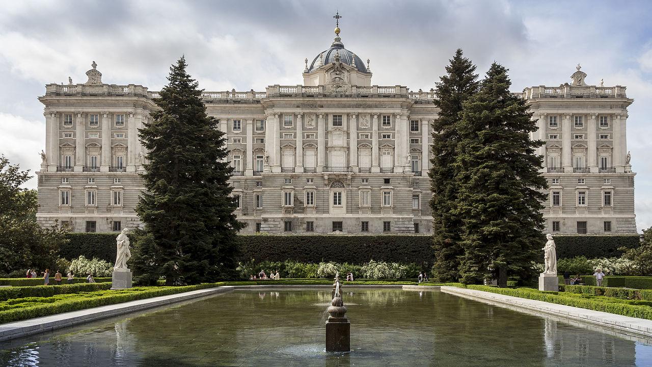 Королевский дворец в Мадриде, фонтан